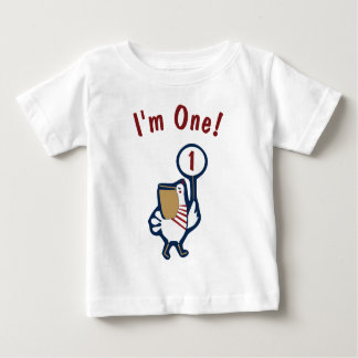 Seestrand-Geburtstags-Ozean und Pelikan-Shirt Baby T-shirt