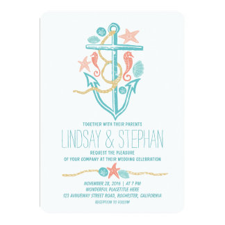 Shop Zazzle's selection of beach wedding invitations for your special day!