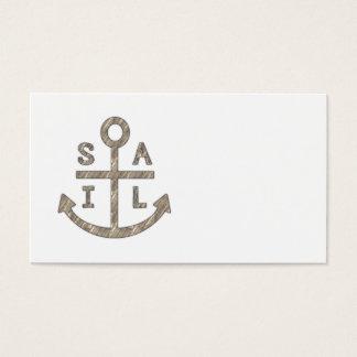 Segel-Anker Visitenkarte