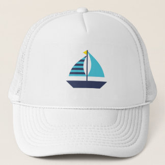 Segel-Boot Trucker Cap