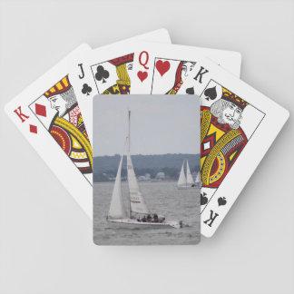 Segel-Boots-Spielkarten Spielkarten