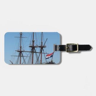 Segel-Schiff VOC Amsterdams hölzernes - Strecke Kofferanhänger