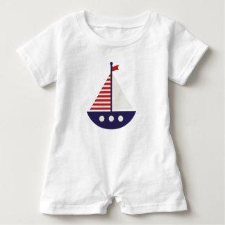 Segel weg#1 baby strampler