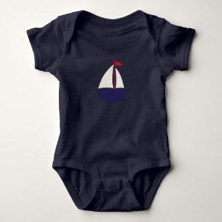Segel weg#2 baby strampler