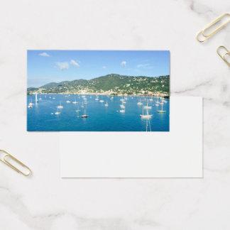 Segelboot-Visitenkarte Visitenkarte