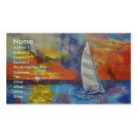 Segelboot Visitenkarten Vorlagen