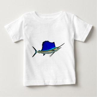Segelfisch-Baby-Geldstrafe-Jersey-T - Shirt