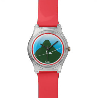 Segelflugzeug Uhr