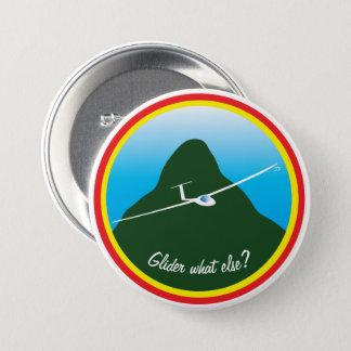 Segelflugzeug - was sonst? runder button 7,6 cm
