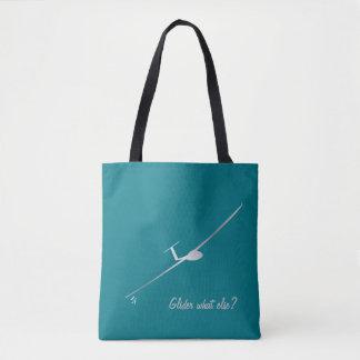 Segelflugzeug - was sonst? tasche
