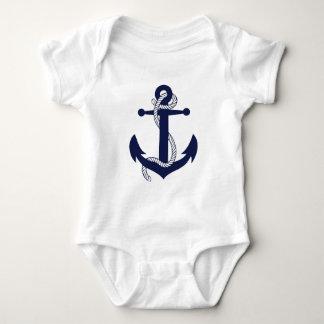 Segeln-Anker-Marine Baby Strampler