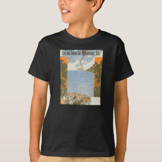Segeln hinunter Chesapeake Bay T-Shirt