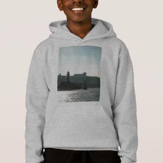 Segeln in Hafen Hoodie