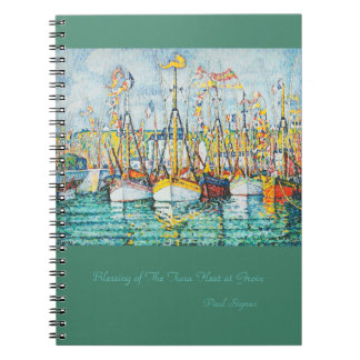Segen der Thunfisch-Flotte bei Groix durch Paul Notizblock