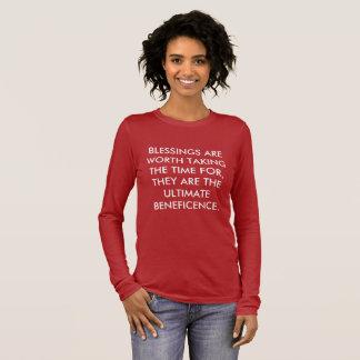 Segen Langarm T-Shirt