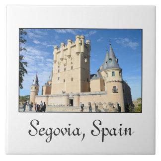 Segovia, Spanien Fliese