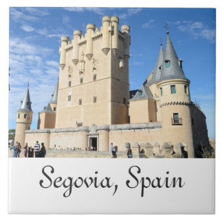 Segovia, Spanien Keramikfliese