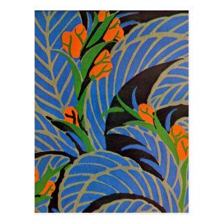 Seguys Kunst-Deko-tropische Nacht - Postkarte
