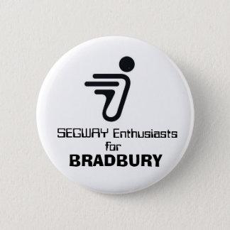 SEGWAY, Enthusiasten, für, BRADBURY Runder Button 5,1 Cm