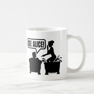 SEHEN SIE ALICE KAFFEETASSE