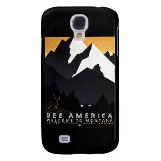 Sehen Sie Amerika-Willkommen nach Montana Galaxy S4 Hülle