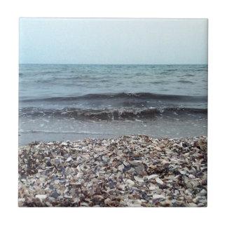 Sehen Sie das Meer Kleine Quadratische Fliese