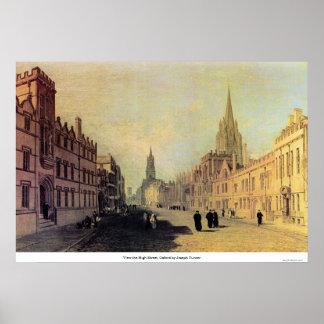 Sehen Sie die Hautpstraße, Oxford durch Joseph Poster