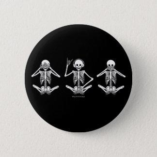 Sehen Sie kein schlechtes… Runder Button 5,7 Cm