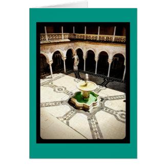 Sehen Sie Spanien-Sammlungs-12x18-Grußkarte Karte