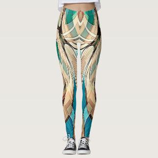 Sehne-Symmetrie Leggings