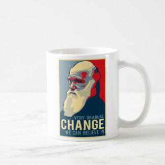 Sehr allmähliche Änderung, die wir herein glauben Kaffeetasse
