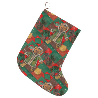 Sehr Beary WeihnachtsTeddybär Großer Weihnachtsstrumpf