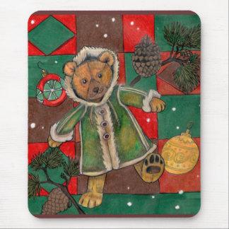 Sehr Beary WeihnachtsTeddybär Mauspads
