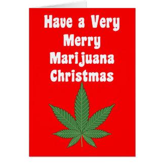 Sehr frohen MaryWanna Weihnachten u. ein Karte