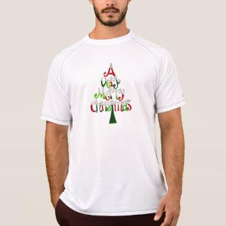 Sehr fröhlicher Weihnachtsbaum T-Shirt