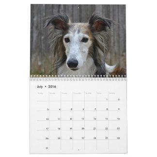 Seidener Windhound 2017 Kalender