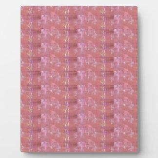 SEIDENES rosa Webart-Grafik-Muster Fotoplatte