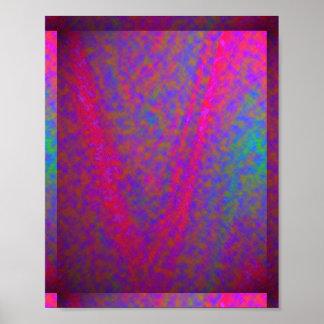 Seidenes V für SIEG: Kosmos-Galaxie-Unendlichkeit Poster