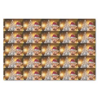 Seidenpapier Christmas Dogue de Bordeaux