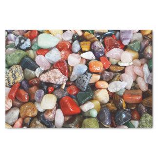 Seidenpapier im mehrfarbigen Stein