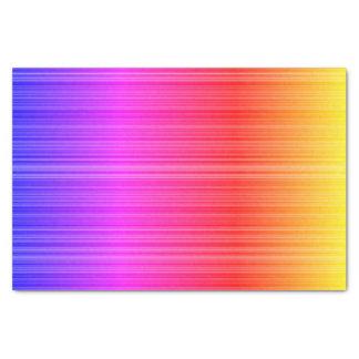 Seidenpapier Weihnachtslila rosa gelber Regenbogen