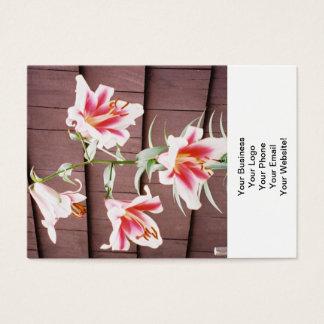 Seidenstraße-Lilie Visitenkarte