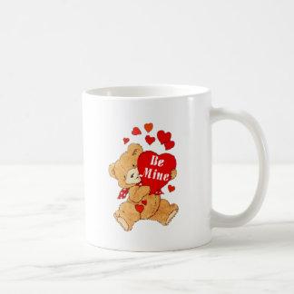 Seien Sie Bergwerk-Teddybär Kaffeetasse