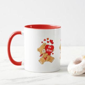 Seien Sie Bergwerk-Teddybär Tasse