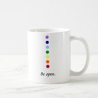 Seien Sie - Chakra Tasse offen