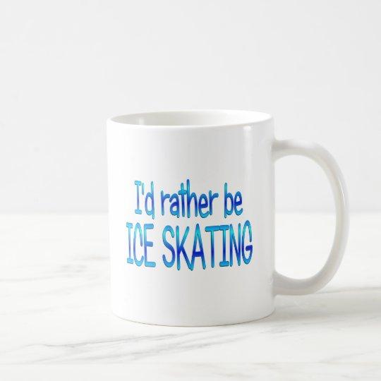 Seien Sie eher Eis-Skaten Kaffeetasse
