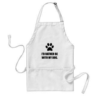 Seien Sie eher mit meinem Hund Schürze