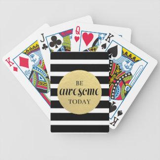 Seien Sie fantastische heute Spielkarten