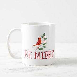 Seien Sie frohe Kardinals-Weihnachten Kaffeetasse