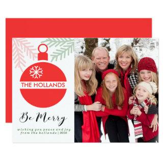 Seien Sie frohe Weihnacht-Karten | CHSRITMAS Karte